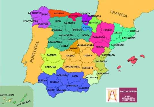 mapaprovincias