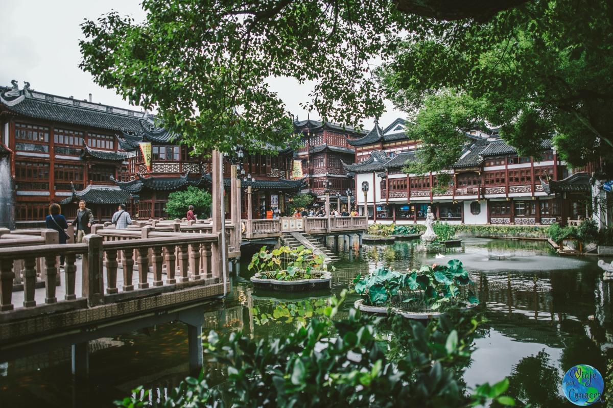 Cómo aprovechar una escala en Shanghái: visita a Yuyuan Garden
