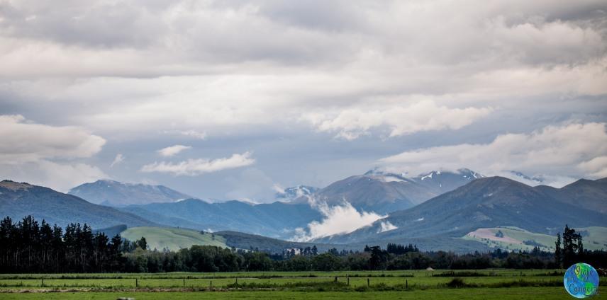 Las bonitas montañas de nuestro trabajo