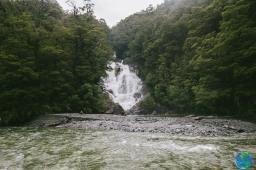y cascadas...