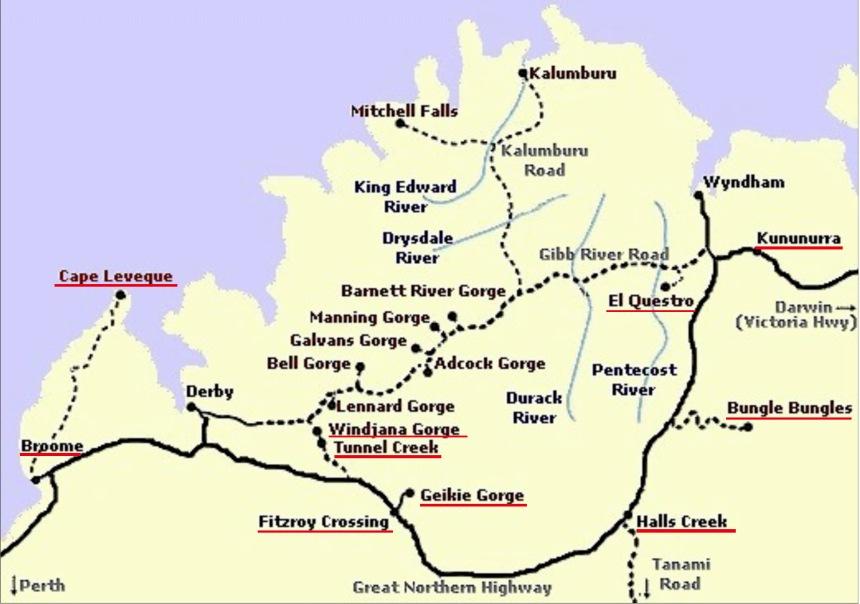 my kimberley map